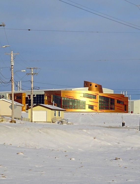 Here's how the Canadian High Arctic Research Station, the game-changer in Cambridge Bay, looks. Thanks to CHARS and population growth in this hub, over the next 20 years, Cambridge Bay's population is expected to grow by 46 per cent, to reach about 2,500 residents by 2035. Housing everyone will mean the addition of 270 dwellings to the existing stock of 501 private dwellings, according to the town's development plan, adopted by the hamlet and now in the hands of the minister of Community and Government Services. (PHOTO BY JANE GEORGE)