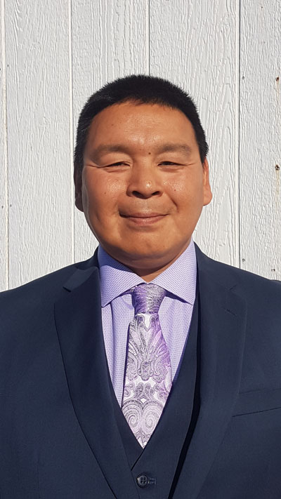 Among Rankin Inlet North-Chesterfield Inlet candidate Cedric Autut's priorities, if elected—tackling Nunavut's high cost of living. (HANDOUT PHOTO)