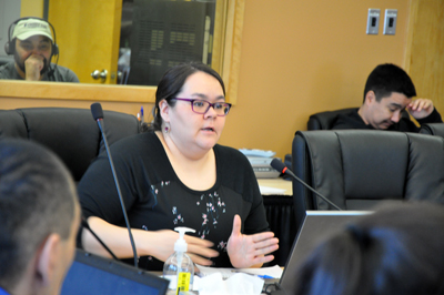 Mina Beaulne is advisor to Nunavik's integrated services for youth and families at the Nunavik Regional Board of Health and Social Service, which will oversee the process. (PHOTO BY SARAH ROGERS)