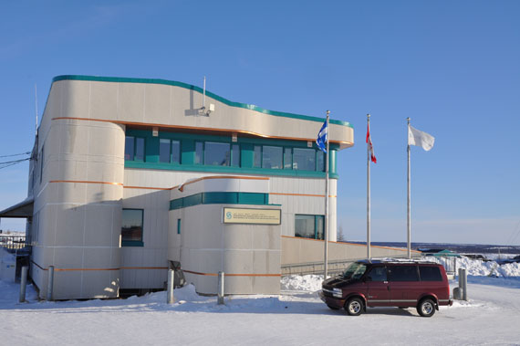 The Nunavik Regional Board of Health and Social Services' head office in Kuujjuaq, where its board of directors elected new executive members during a meeting last week. (PHOTO BY SARAH ROGERS)