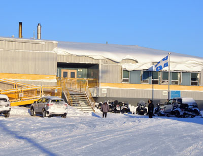 Nunavik's public health department is asking community members in Puvirnituq to check in with the Inuulitsivik health centre if they've been in close contact with people diagnosed with TB or if they present symptoms of the infection. (PHOTO BY SARAH ROGERS)