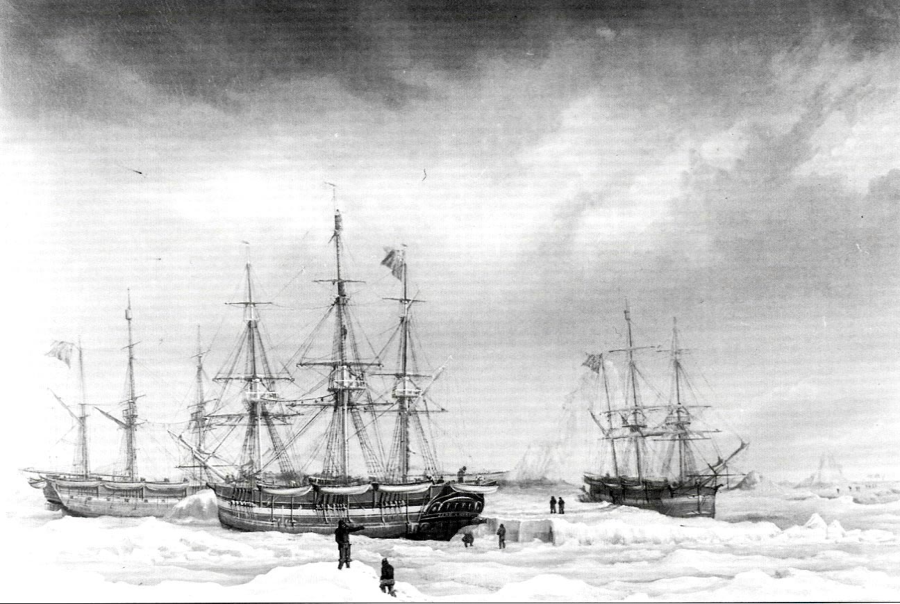During the summer of 1830, dozens of British whaling ships were destroyed by ice and bad weather in Baffin Bay and Davis Strait. (HARPER COLLECTION)