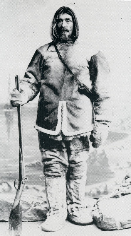 Captain Alexander Murray in Arctic gear. (HARPER COLLECTION)
