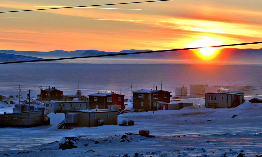 A Nunavut man faces multiple charges of assault and making threats following a March 27 standoff in the Baffin community of Clyde River. (PHOTO COURTESY OF CLYDERIVER.CA)