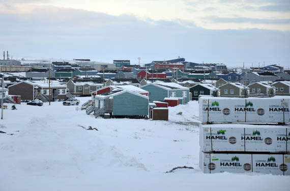 Quebec has allocated over $20 million to the development of a private housing market in Nunavik, where currently just three per cent of the population owns their own home. (PHOTO BY SARAH ROGERS)