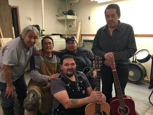 The Arviat Band has been together for over 20 years. (PHOTO COURTESY OF ALIANAIT)