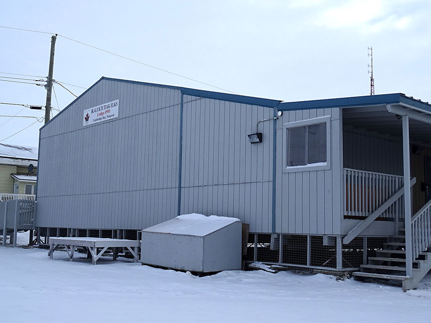 The Cambridge Bay Elks club building. (FILE PHOTO)