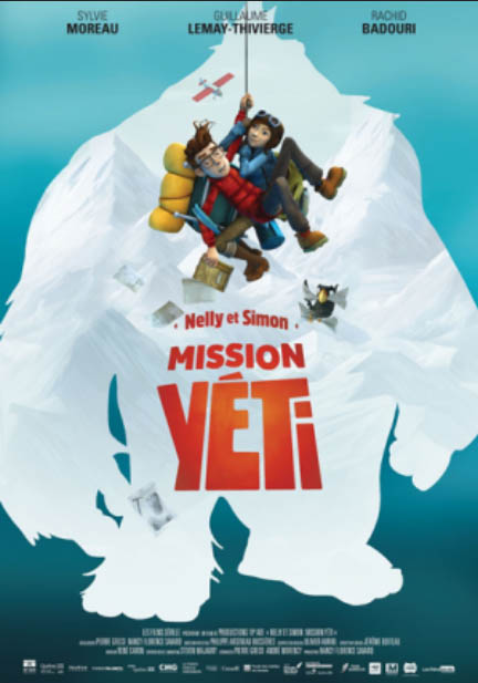 Nelly et Simon: Misson Yeti screens on Saturday, May 12 at 1:00 p.m., one of three films playing this weekend in Iqaluit as part of a French-language film fest.