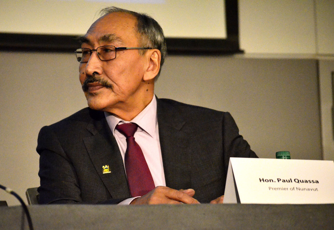 Nunavut Premier Paul Quassa said his government's first operations and maintenance budget, to be unveiled May 28, will set