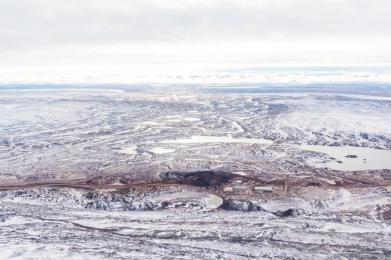 Baffinland's Mary River mine site, as seen this past September. (PHOTO COURTESY OF BAFFINLAND)