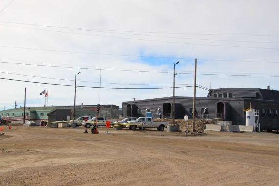 "One unit of the BCC is ""significantly"" damaged after inmates rioted during the night of June 20, says Nunavut's justice minister. (PHOTO BY BETH BROWN)"