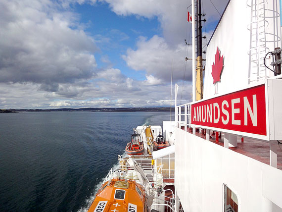 The Amundsen is the only Canadian Coast Guard icebreaker dedicated to scientific research. (FILE PHOTO)