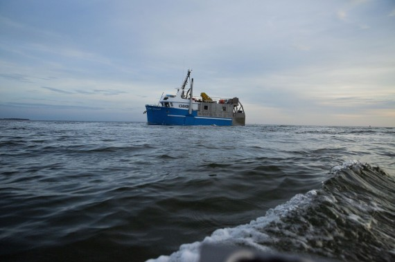 The Arctic Research Foundation's newest vessel, the William Kennedy, leaves port in P.E.I. today en route for Hudson Bay. The foundation says the converted offshore crab fishing vessel is the only ship dedicated to scientific research in the Hudson Bay. (PHOTO COURTESY OF THE ARCTIC RESEARCH FOUNDATION)
