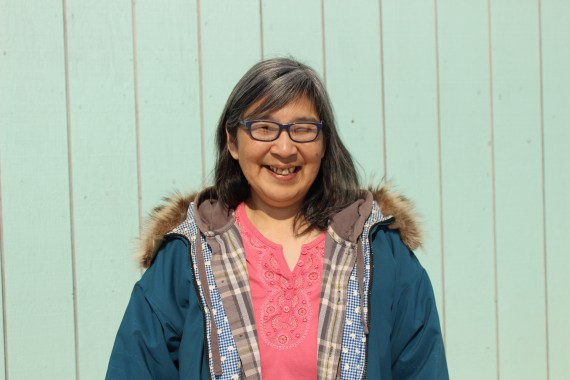 Betty Kogvik is one of 21 Inuit guardians hired and trained by Parks Canada to patrol the national historic site that encompasses the wrecks of HMS Erebus and HMS Terror this summer. (PHOTO BY BARBARA OKPIK)