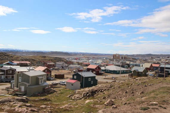 A boil water advisory will be in effect for homes in Iqaluit's Happy Valley area until Saturday. (PHOTO BY BETH BROWN)