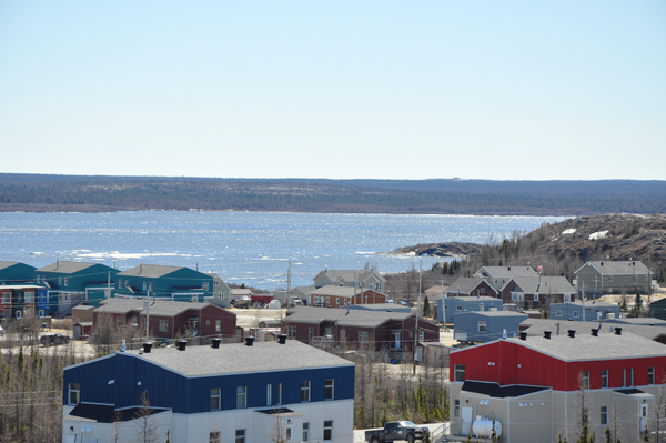 A new five-year housing agreement provides for $25 million a year from the federal government towards the construction of social housing throughout Nunavik, while the province covers the operating and maintenance costs. (PHOTO BY SARAH ROGERS)