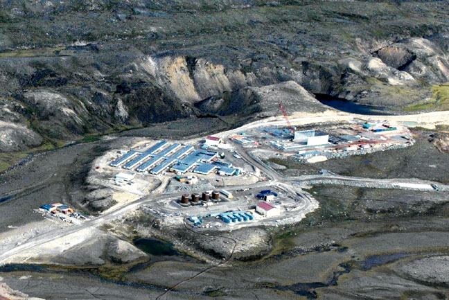 A view of the Mary River project in North Baffin. A recent letter to the editor by the Nunavut Chamber of Mines downplays the risks faced by Inuit women at mine sites, writes Sandra Omik. (FILE PHOTO)