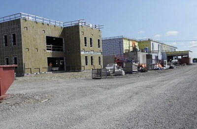 Quebec is building a new 220-person jail in Amos, in the province's Abitibi region, set to open this fall. Nunavik police and justice officials hope to have an air link in place by 2019 to fly detainees directly to Amos, to speed up court appearances and bail hearings. (PHOTO COURTESY OF MSP QUEBEC)