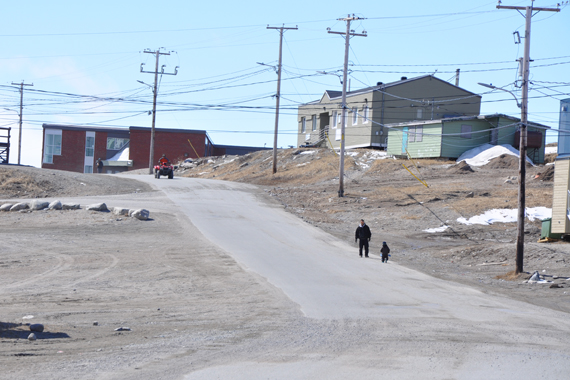 A Nunavik man was killed Sept. 5 after he fired his weapon at police officers, who shot back, fatally wounding the 40-year-old in Inukjuak, a community of about 1,700 along the region's Hudson coast. (FILE PHOTO)