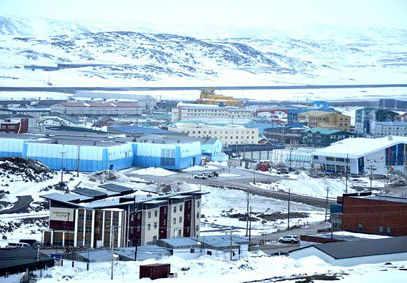 A male youth and an adult woman face charges related to the armed robberies of taxi drivers in Iqaluit. (PHOTO BY SARAH ROGERS)