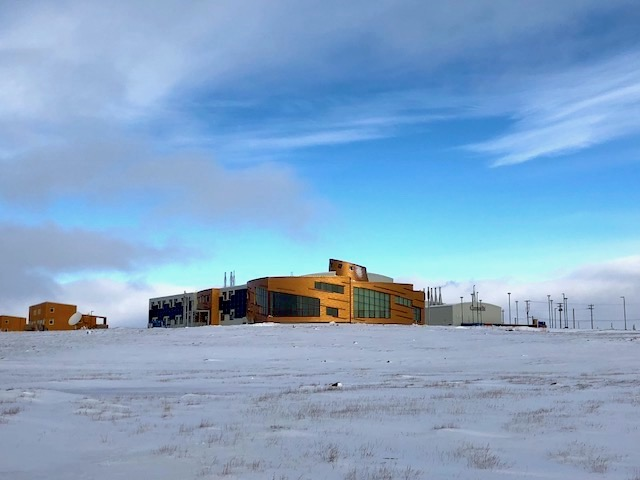 The Canadian High Arctic Research Station stands on a hill outside Cambridge Bay. While the facility remains closed to the public, some 43 science and technology and knowledge management projects have received money from the Polar Knowledge Canada for 2017-19. (PHOTO BY JANE GEORGE)