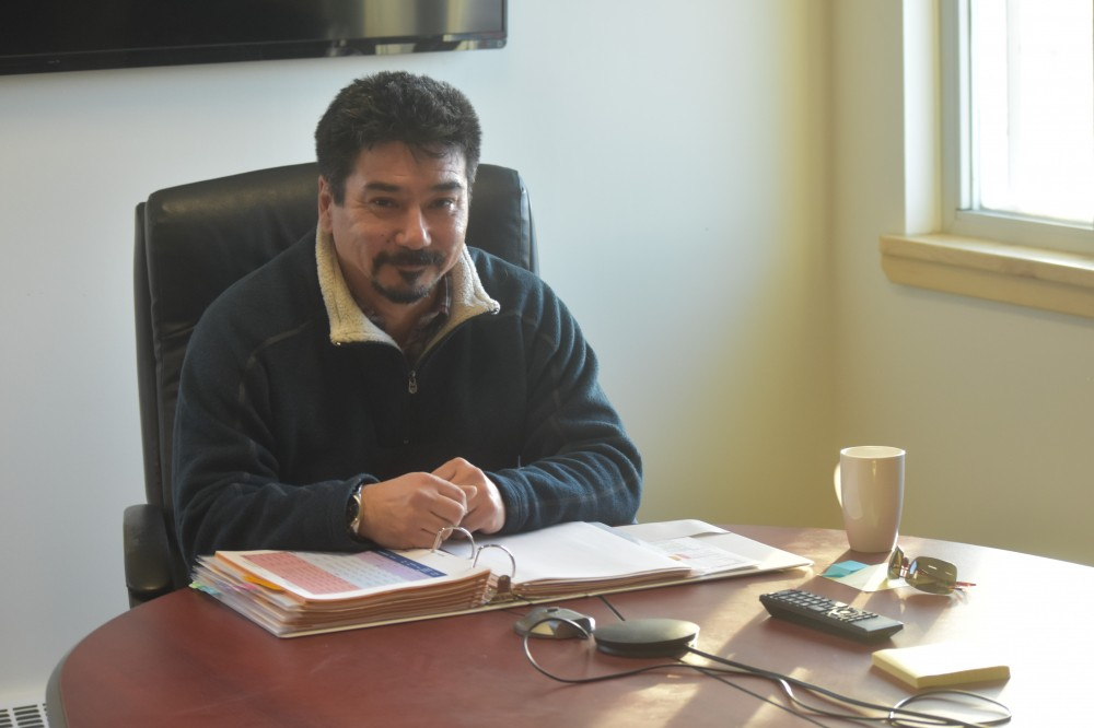 Nunavut Housing Corp. President Terry Audla. (PHOTO BY COURTNEY EDGAR)