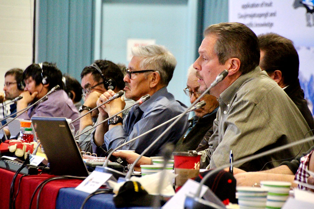 The Nunavut Wildlife Management Board is holding a public hearing in Iqaluit this week. (PHOTO BY BETH BROWN)