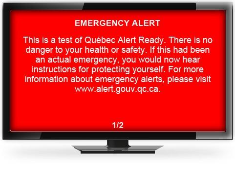 Nunavut, Nunavik slated for national alert system test on Nov  28