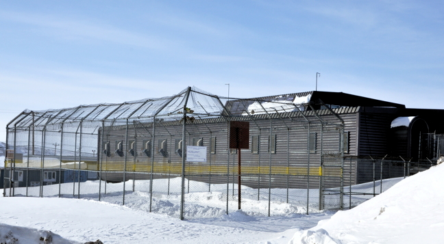 The new Qikiqtani Correctional Healing facility will host a 112-bed facility with separate medium- and maximum-security wings adjacent to the current Baffin Correction Centre, pictured here.  (FILE PHOTO)