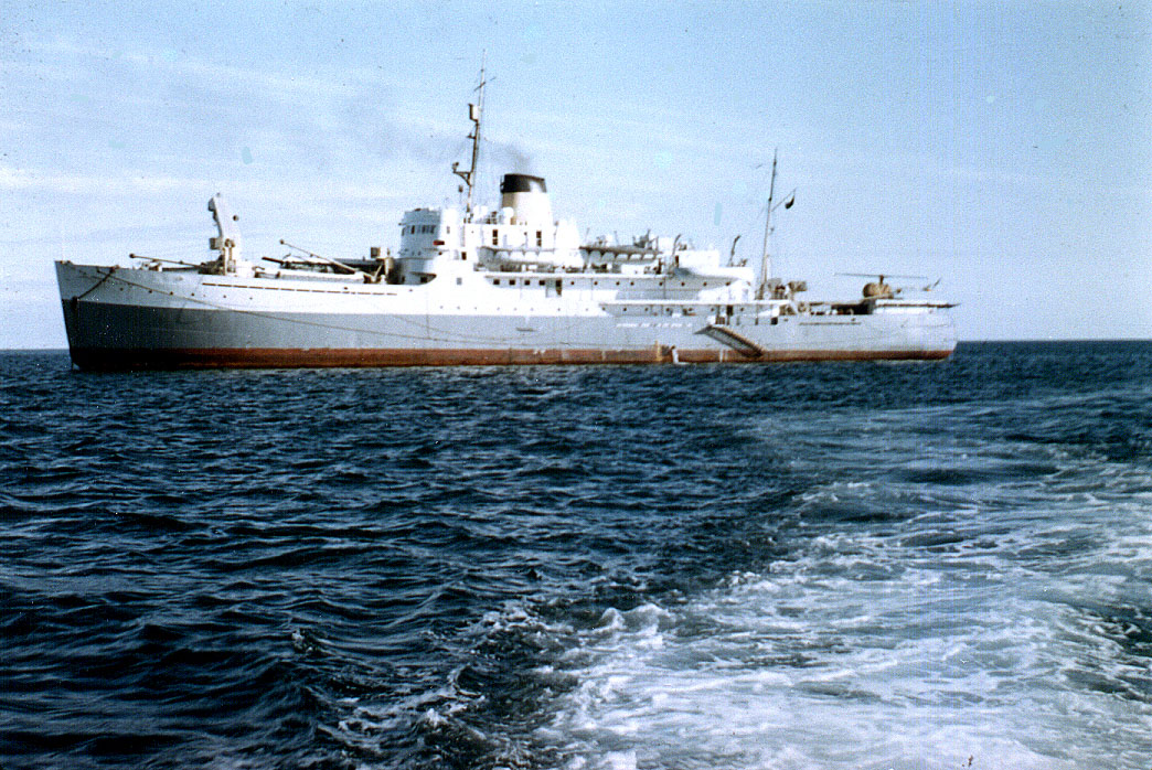 The federal government patrol vessel C.D. Howe, seen here in an undated file photo from the 1950s. The multi-use C.D. Howe served partly as a hospital ship, but in the summer of 1953, its X-ray machine was not working. (FILE PHOTO)