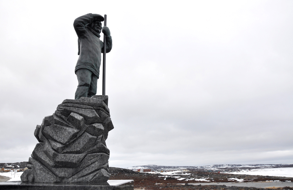 A monument in Inukjuak to commemorate the High Arctic exiles, designed by Siasi Smiler, was installed and unveiled on Sept. 11, 2011, near the spot where they boarded the C.D Howe for their long voyage to Cornwallis Island and Ellesmere Island. In March 1996, Jean Chrétien's Liberal government struck a deal with Makivik Corp. to establish a $10 million trust fund on behalf of the exiles. But they received no formal apology until Aug. 18, 2010, when John Duncan, then Conservative minister of aboriginal affairs, apologized on the federal government's behalf. (FILE PHOTO)