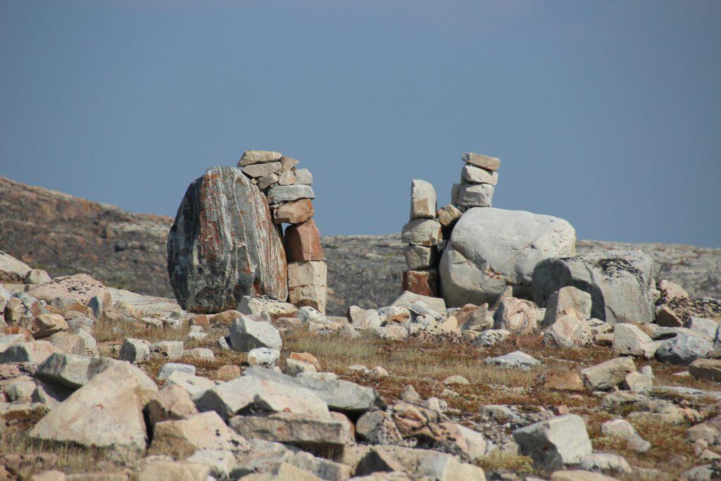 Aklungirtautitalik (or Gate City) at Ukkusiksalik National park, Nunavut