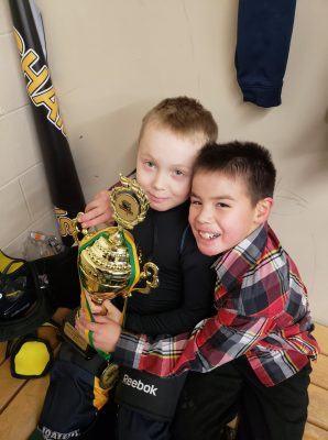 Iqaluit Blizzard novice hockey team in Ottawa