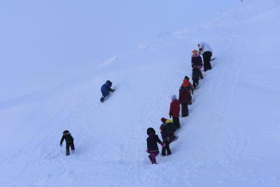 École des Trois Soleils in Iqaluit, Nunavut