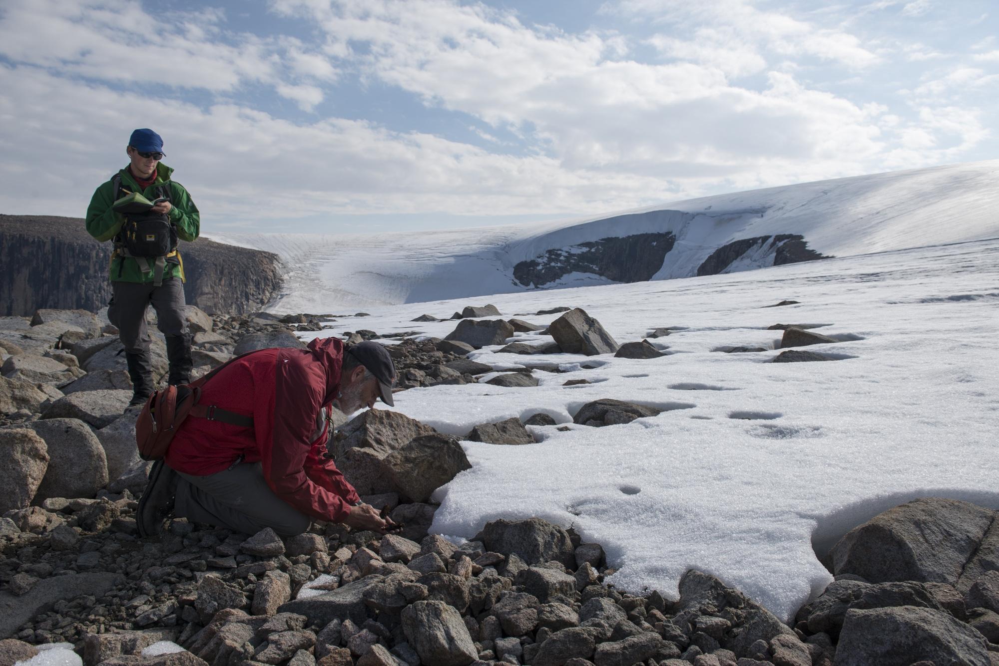 Glaciers of eastern Baffin Island, Nunavut