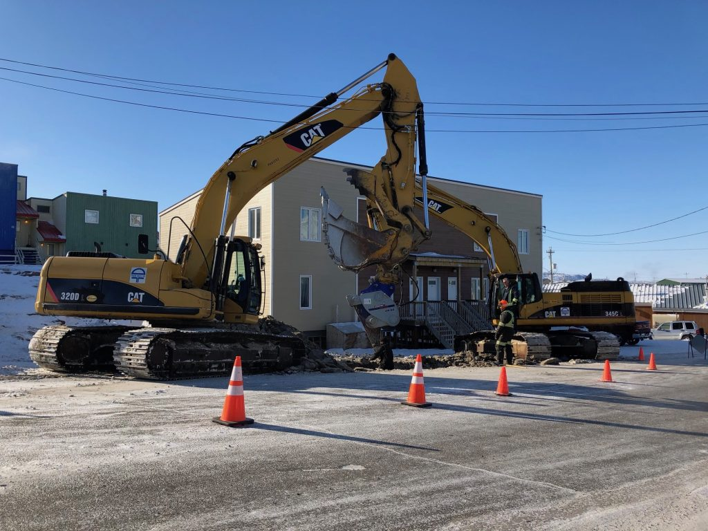 City of Iqaluit says climate change is contributing to its water pipe woes