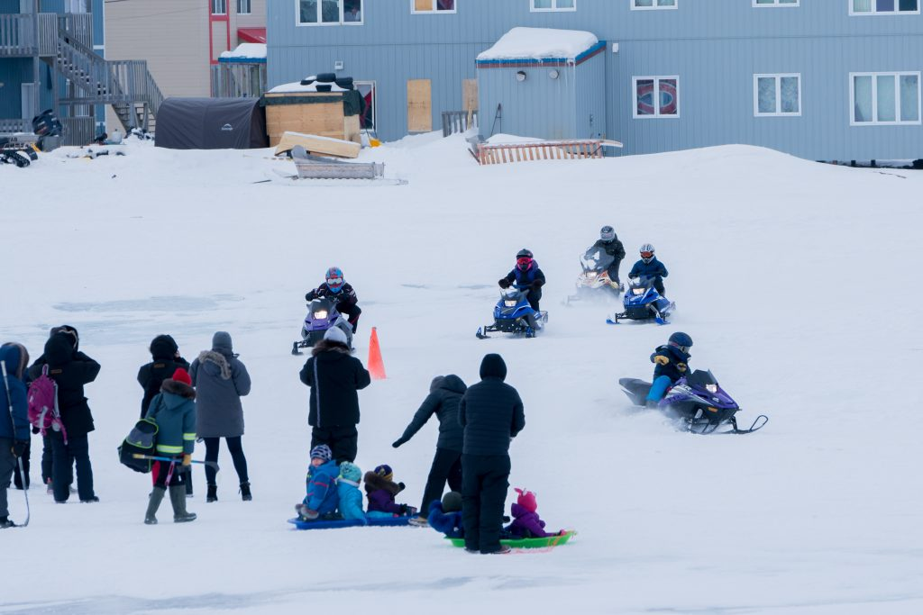 The race is on | Nunatsiaq News