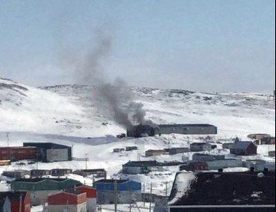 Fire destroys Nunavik hockey arena