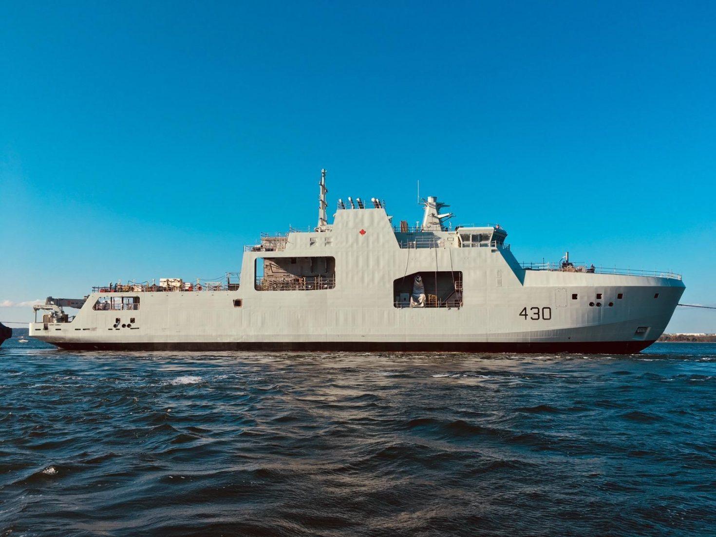 Coast Guard to get two new Arctic patrol ships | Nunatsiaq News