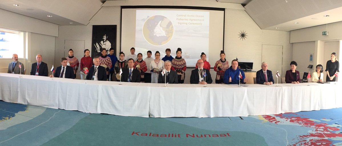 Canada ratifies treaty to protect Arctic Ocean fisheries