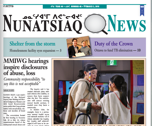 Nunatsiaq News wins top prizes at Quebec community newspaper