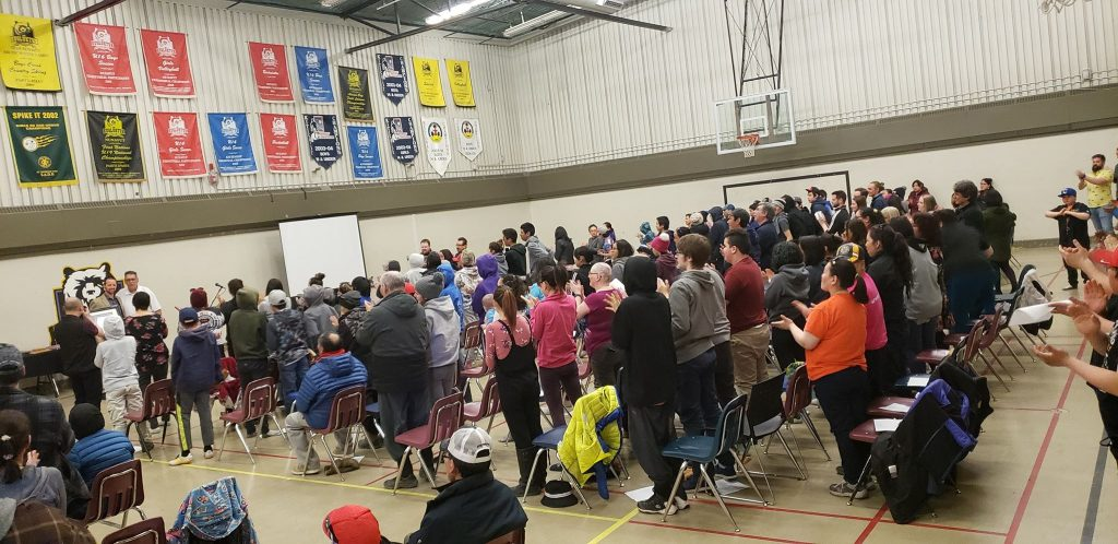 Western Nunavut town says goodbye to principal rejected by