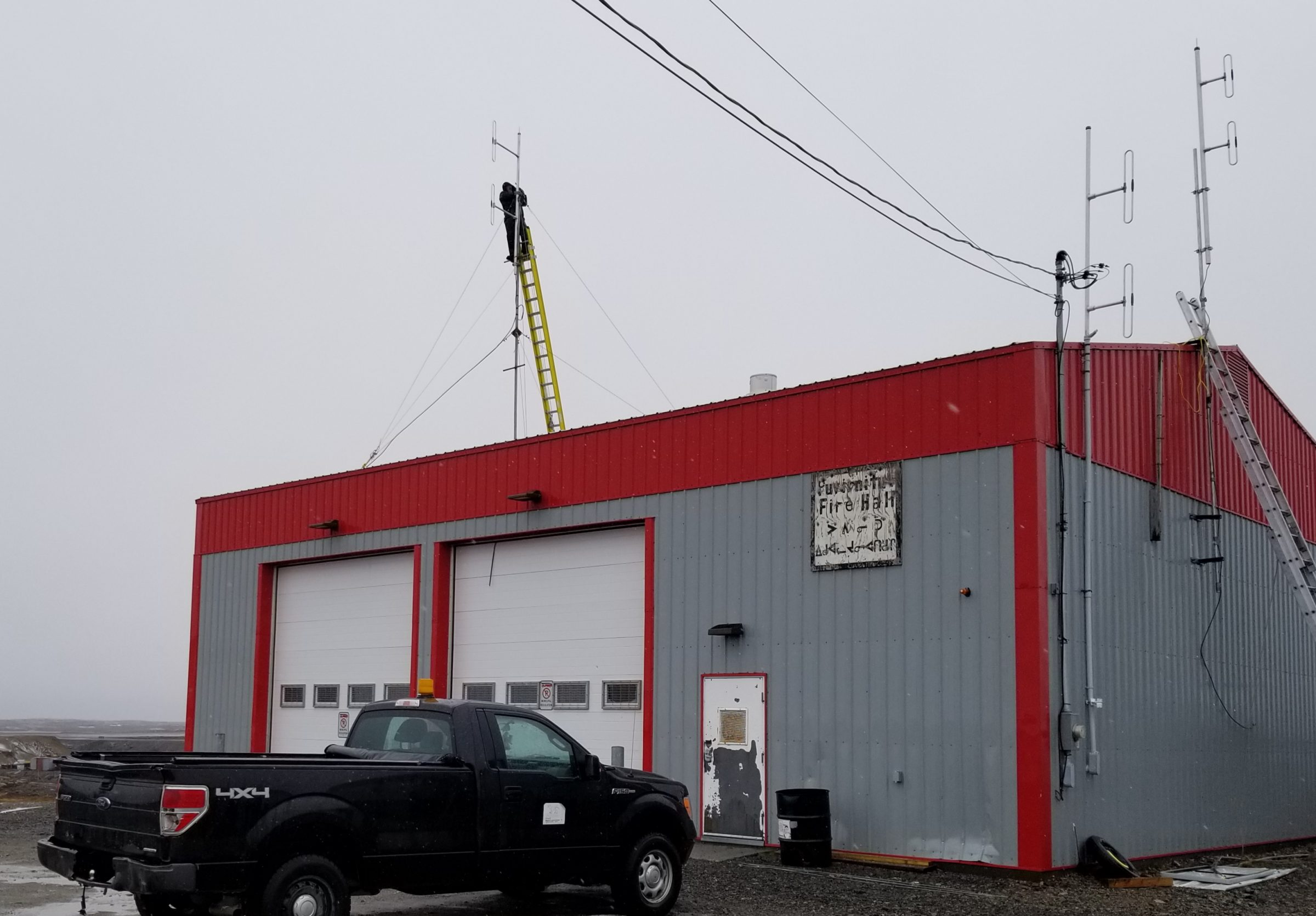 New VHF radio system connects Puvirnituq hunters