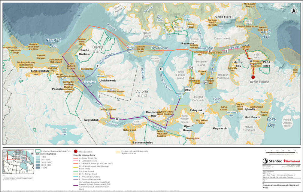 Baffinland eyes Northwest Passage as possible shipping route