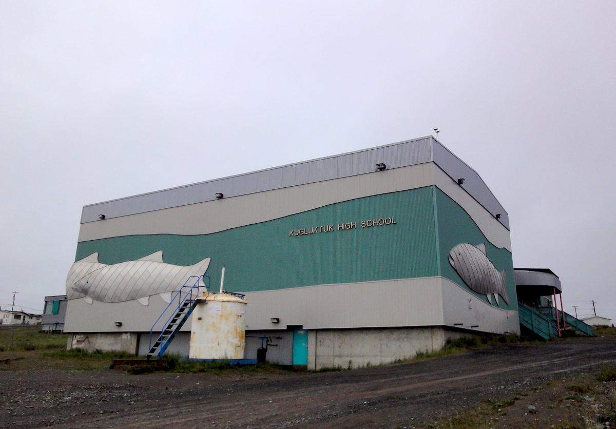 Kugluktuk high school fire deliberately set: Nunavut RCMP | Nunatsiaq News