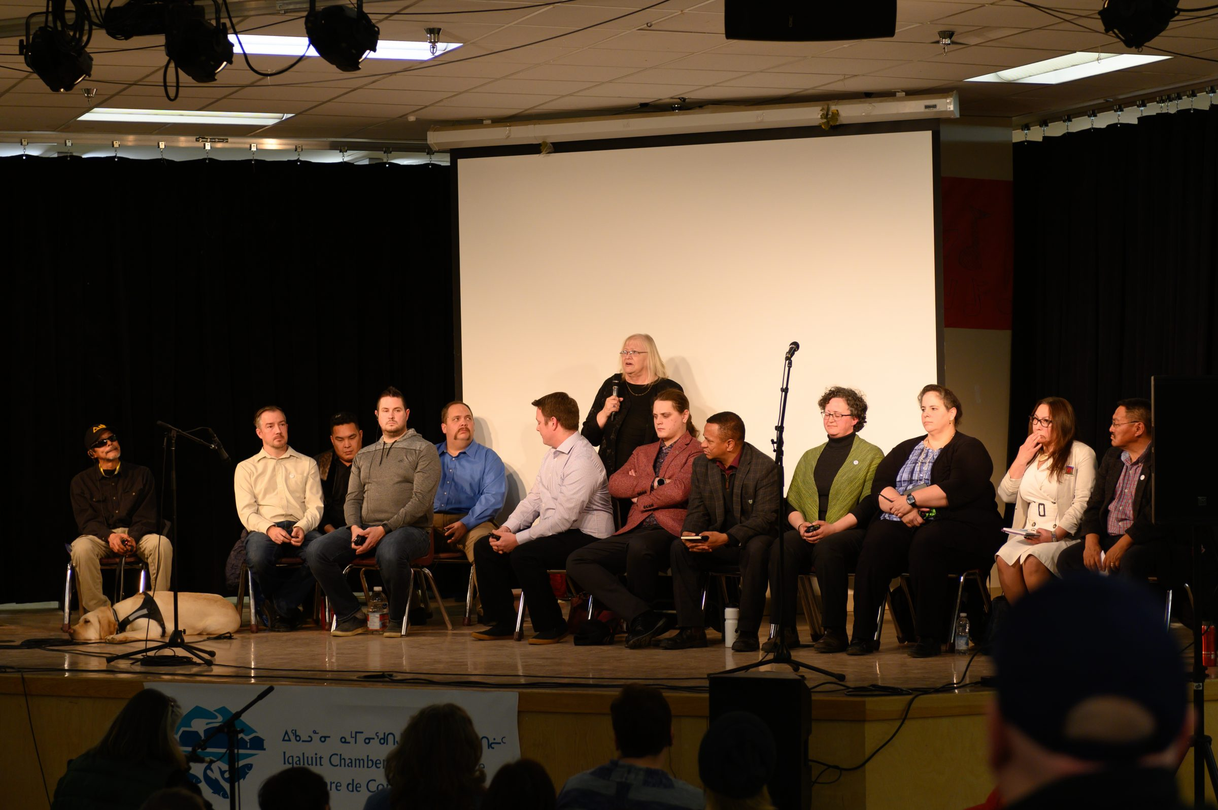 Iqaluit city council candidates discuss priorities at all-candidates forum | Nunatsiaq News