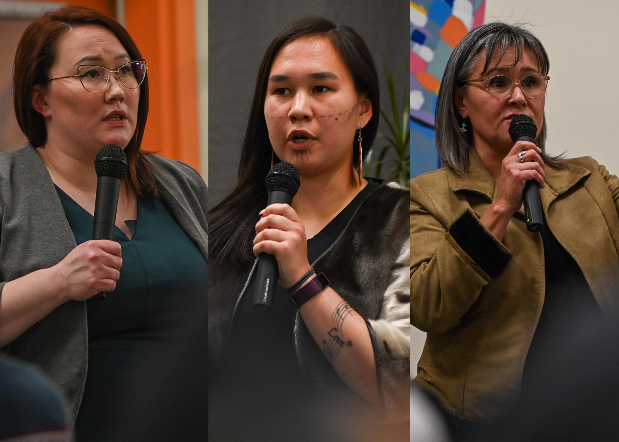 Three of Nunavut's federal candidates face off in debate on food security | Nunatsiaq News