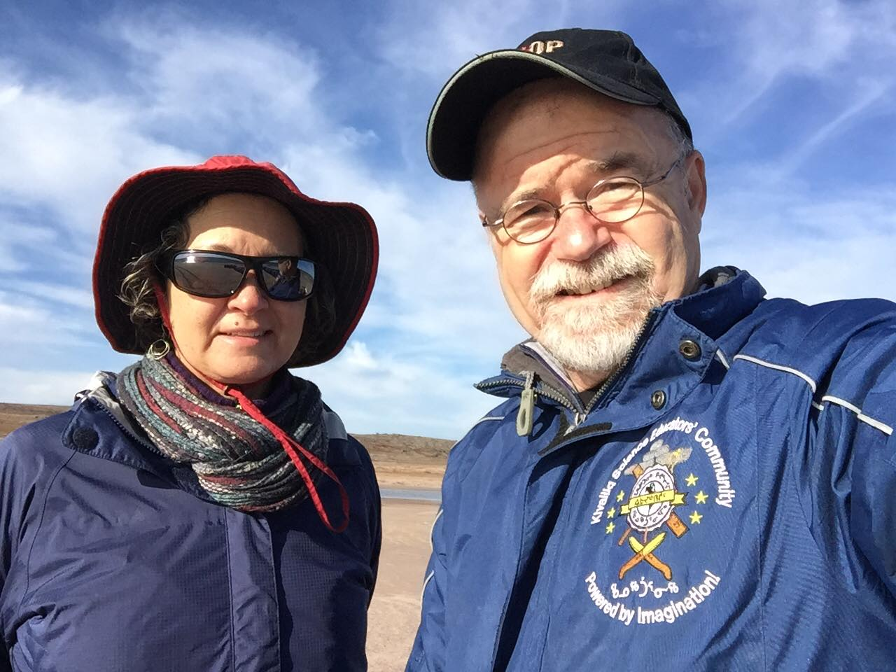 Laurel and Jim Kreuger are preparing to leave their home of 27 years in Baker Lake on July 11. (Photo courtesy of the Kreugers)