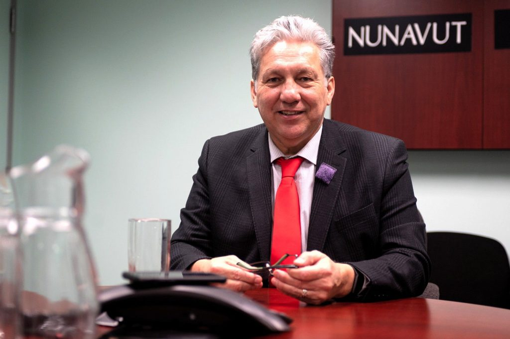Northern Affairs Minister Dan Vandal