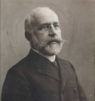 Axel Heiberg, financial director of Ringnes Brewery, for whom the explorer Otto Sverdrup named a large island in the High Arctic.